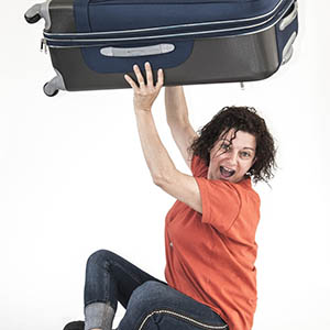 Guest with a suitcase should get your attention